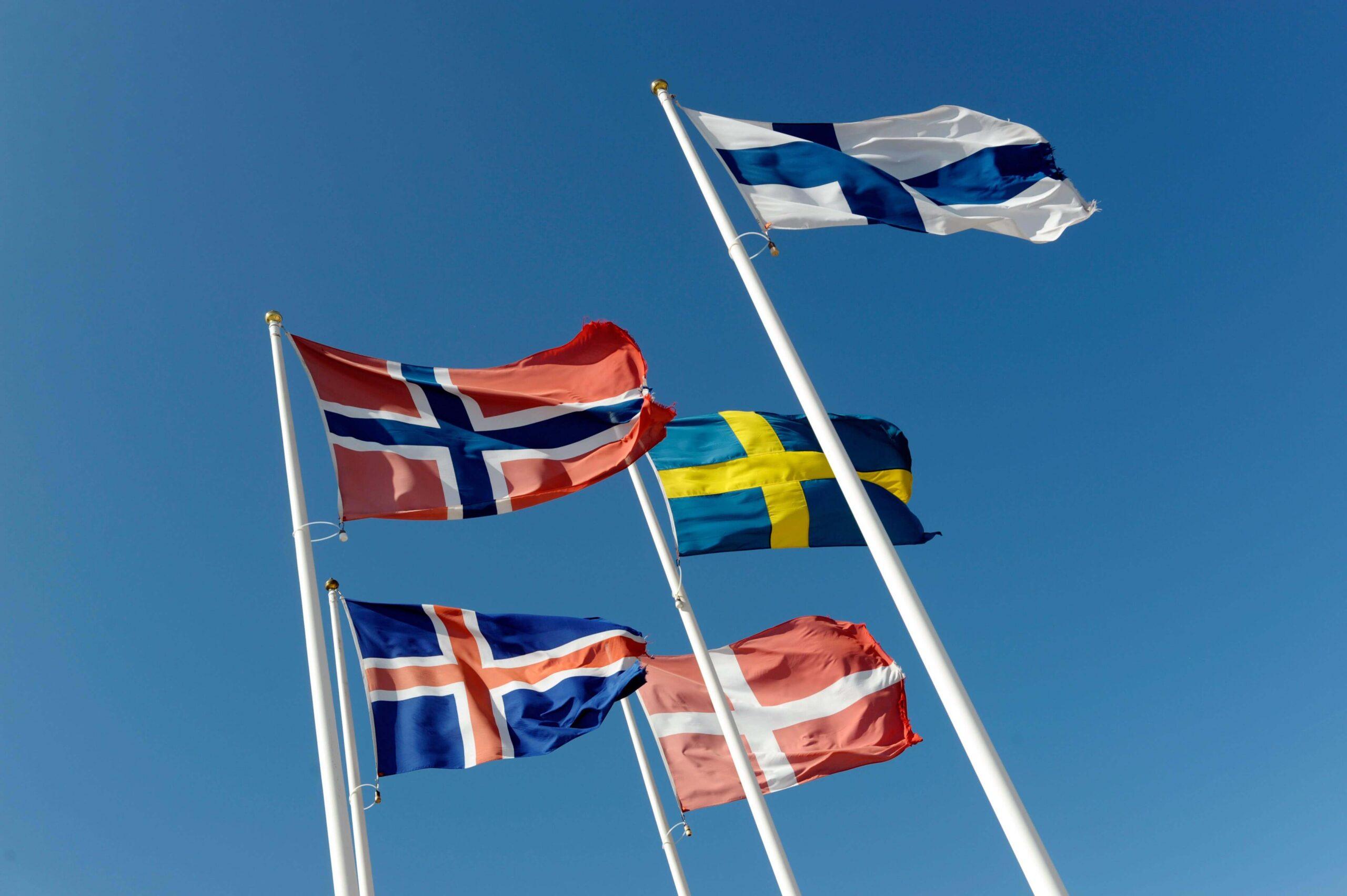 Kvarken council flags